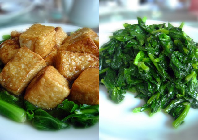 Tofu & Vegetable @ Chef Tam, Selayang