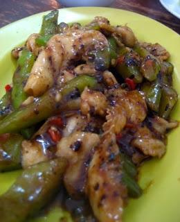 Stir Fry Bittergourd Taucu @ Fu Kua Restaurant, Taman SEA, PJ