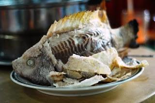 Flying Fish / Shut San Fei Wu @ Bukit Tinggi BBQ, Bentong, Pahang