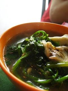 Soup from Steamed Seafood @ Bukit Tinggi BBQ, Bentong, Pahang
