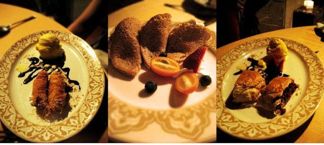Desserts @ Al Nafourah, Le Meridien, KL