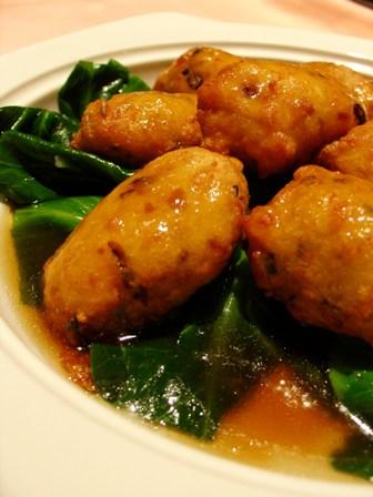Pi Pa Braised Beancurd with Vegetable @ Toh Yuen, Hilton PJ
