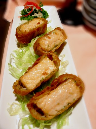 Norwegian Salmon Fish Roll @ Toh Yuen, Hilton PJ