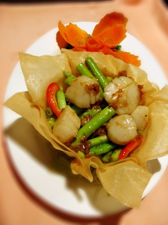 Fresh Scallops with Lily Bulbs @ Toh Yuen, Hilton PJ
