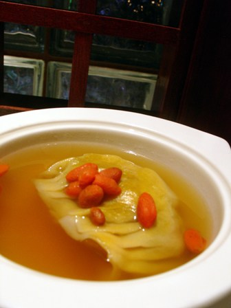 Shark Fin's Dumpling in Superior soup @ Toh Yuen, Hilton PJ