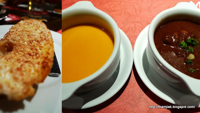 Garlic Bread & Soup @ Monte's, BSC KL