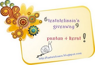 Testatelissia's Giveaway