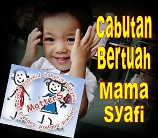 CABUTAN BERTUAH MAMA SYAFI