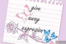 GIVE AWAY EXPRESION