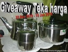 GIVEAWAY TEKA HARGA