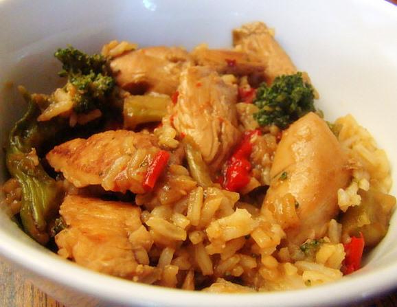 Krista's Kitchen: Easy Chicken Stir Fry