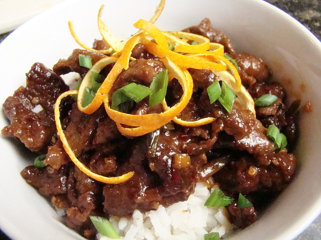 Krista's Kitchen: Crispy Orange Beef