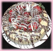 Kek dan Jambangan Bunga