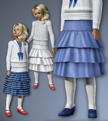 Historical clothing and shoes for boys and girls by All About Style FCvictruffleskirt_AAS