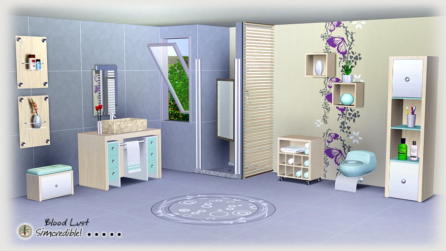 My sims 3 blog bloodlust bathroom by simcredible designs for Bathroom ideas sims 3