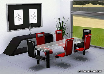 My sims 3 blog new dining room set at stylist sims for Sims 3 dining room ideas