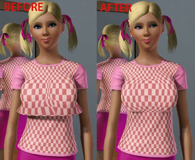 Sims 4 Boob Mod