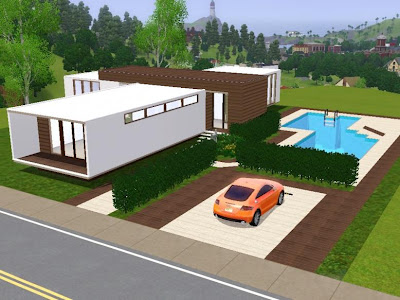 My sims 3 blog estrela modern lout by sims 3 modern houses - Sims 3 wohnzimmer modern ...