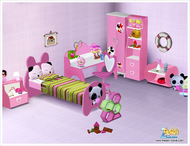 My Sims 3 Blog Peggy 39 S July Special Gift Bedroom Set