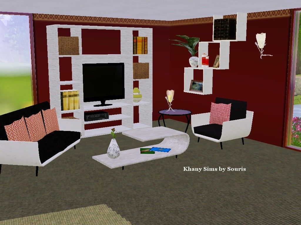 Sims 3 download hairdresser joy studio design gallery for Photo salon moderne