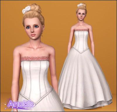 Sugar Flower Wedding Gown by Anubis360 Sugarweddinggown01