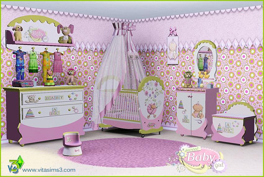 My Sims 4 U: BON BON Baby Room by Vita Sims