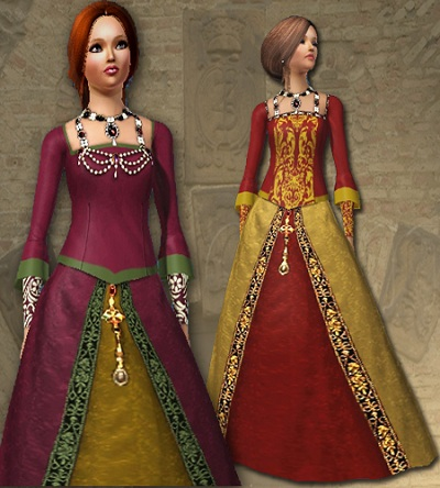 Historical Female Clothing by All About Style FAtudortop_AAS