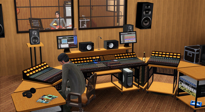 My Sims 3 Blog Recording Studio By Sandy