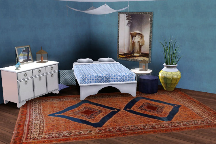 my sims 3 blog moroccan inspired bedroom by heidi