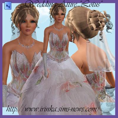 Wedding Attire by Irink@a Wedding+Attire+Lotus+by+Irink%2540a