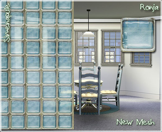 how to make a glass wall in sims 4