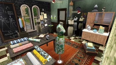 Fashion Design Table Sims Freeplay