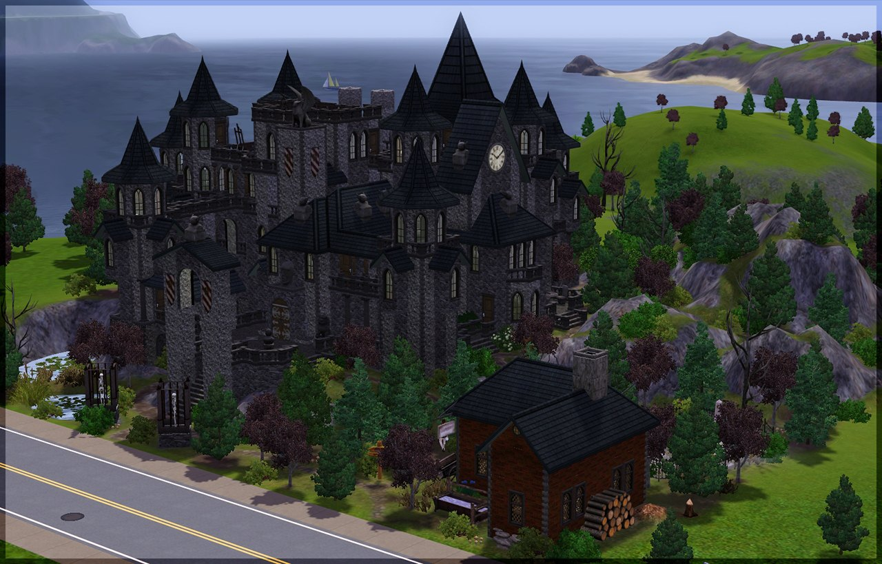 My Sims 3 Blog Vampire Castle By Candlelight82