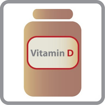 "Vitamin D Supplement: ""Because it can be cloudy some days"""