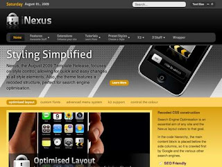 RocketTheme Nexus v1.5.3 update - Joomla Template