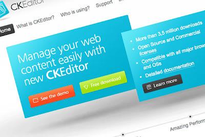 CKEditor WYSIWYG editor for joomla 1.5 plugin