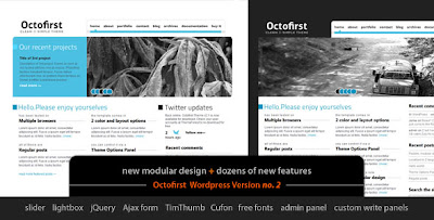Octofirst Business Portfolio Wordpress 4 in 1