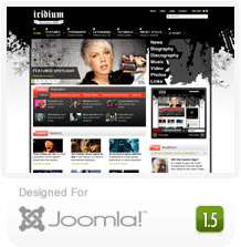 Iridium – RocketTheme Joomla Template