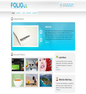 FOLIO wordpress CMS Template