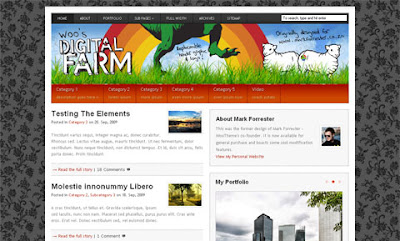 Digital Farm Premium Wordpress Theme