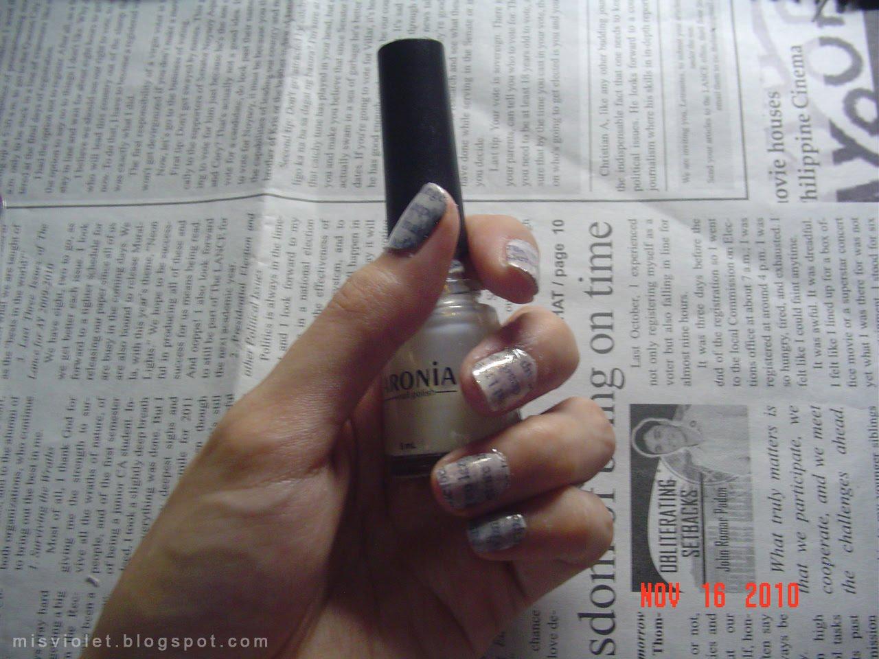 Мужской бесцветный лак для ногтей
