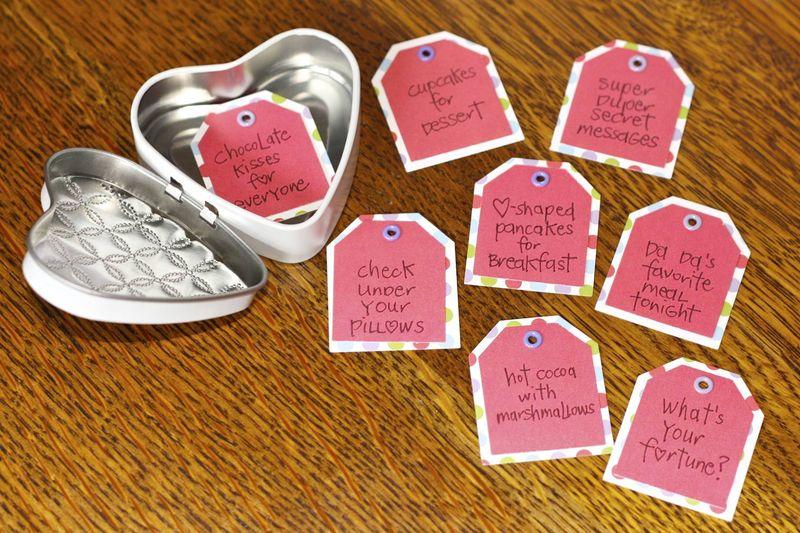 Valentine Calendar Ideas : First lady of the house valentine advent calendar