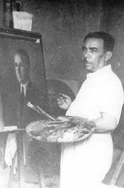 Ο αγιογράφος της Φανερωμένης Μπανάτου ΧΡΗΣΤΟΣ ΡΟΥΣΕΑΣ