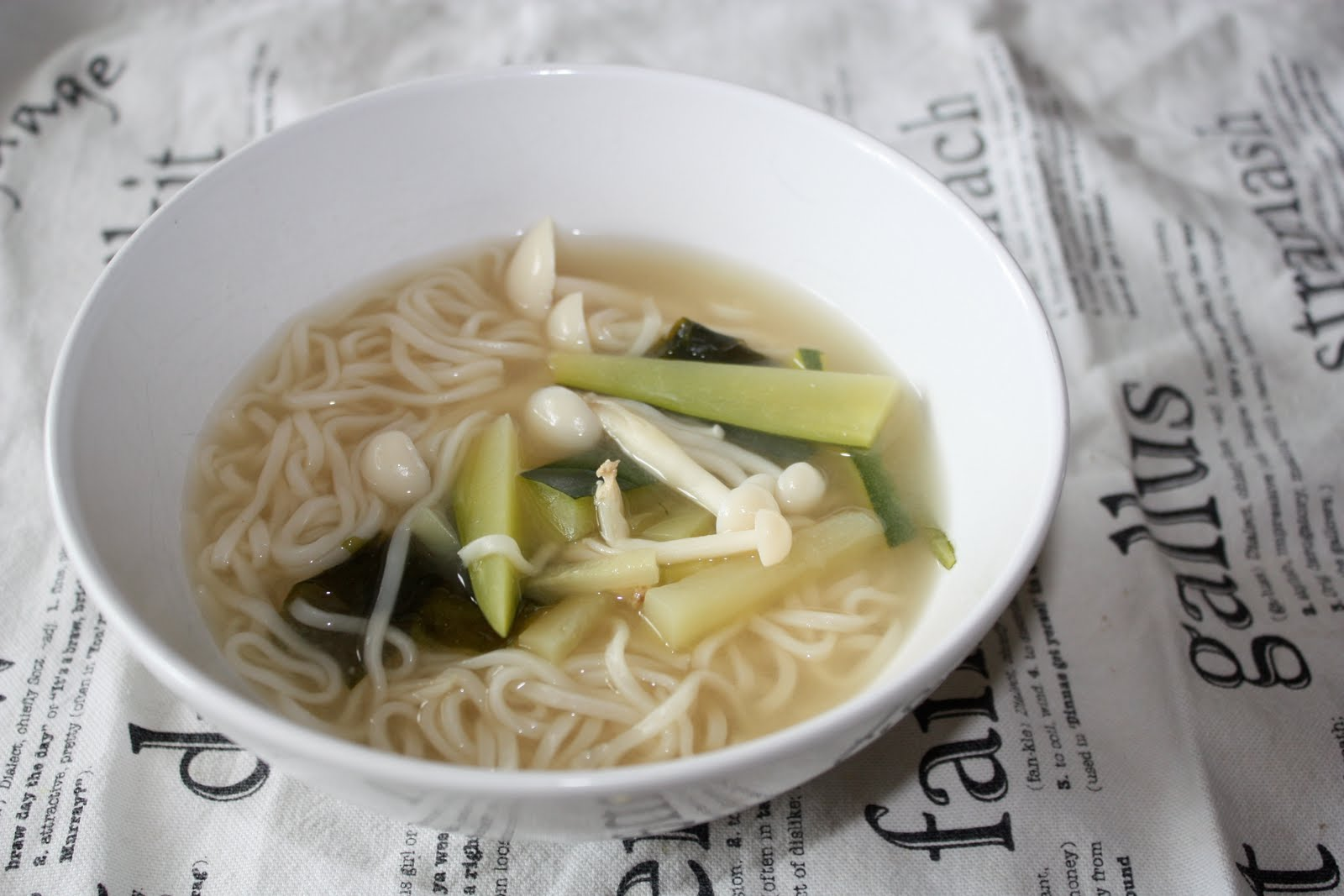 Miso Soup With Enoki Mushrooms Recipes — Dishmaps