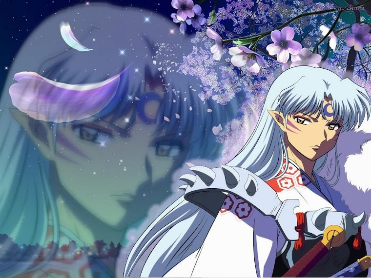 kagome and sesshomaru in love