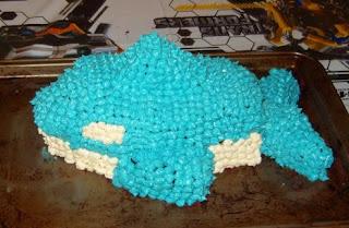 killer whale cake