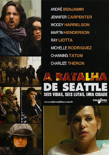 Filme Poster A Batalha de Seattle DVDRip RMVB Legendado