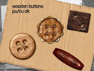 http://stephsscrappybits.blogspot.com/2009/12/wooden-buttons.html