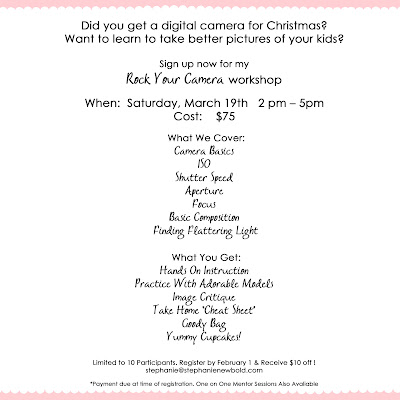 Photography Workshop Flyer