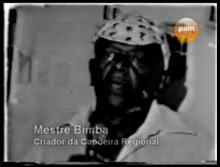 Recuperados trechos do vídeo perdido RELÍQUIAS DA CAPOEIRA - DEPOIMENTO DO MESTRE BIMBA